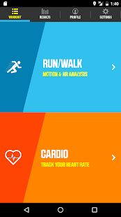 RunFit Fitness app screenshot for Android