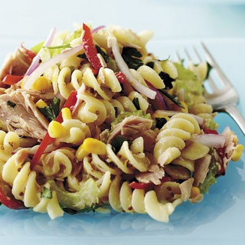 Warm Tuna Pasta Salad