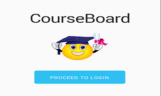 MyCourseBoard - screenshot