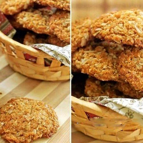 Oatmeal Cookies Without Flour, Eggs And Butter