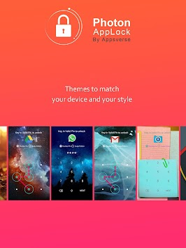Photon AppLock APK screenshot thumbnail 6