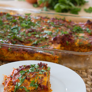 Paleo Lasagna with Dairy-free Melty Cheese + Butternut Squash Noodles