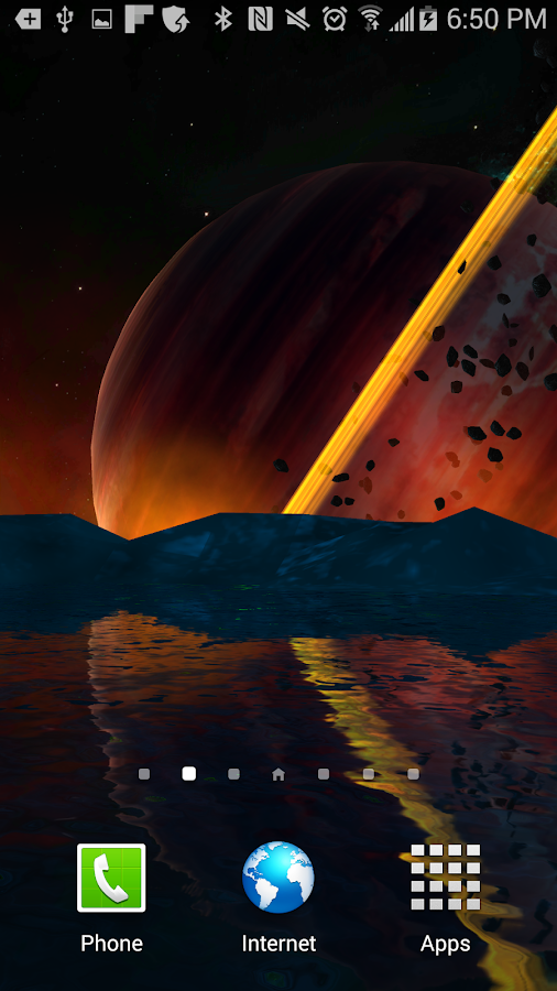Far Galaxy 3D Live Wallpaper Screenshot 1