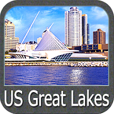 US Great Lakes gps navigator