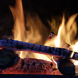 Fire by Ovidiu Gruescu - Uncategorized All Uncategorized ( fireplace, fire )