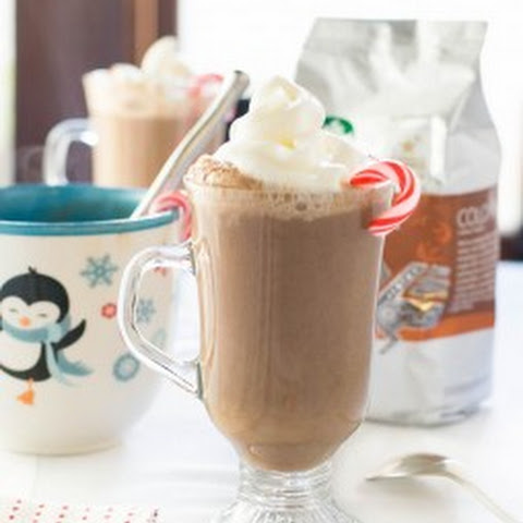 Peppermint Coffee Hot Chocolate