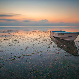 Soft Morning by Om Kas - Transportation Boats