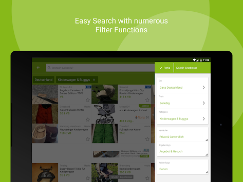 EBay Kleinanzeigen For Germany APK screenshot thumbnail 12