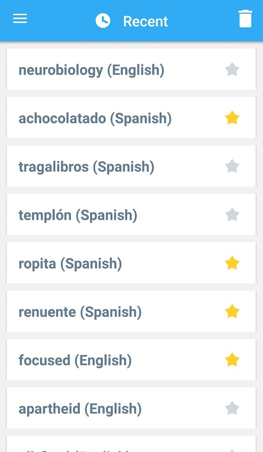 Collins Spanish Complete Dictionary Screenshot 5