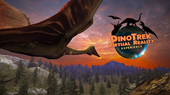 DinoTrek VR Experience screenshot for Android