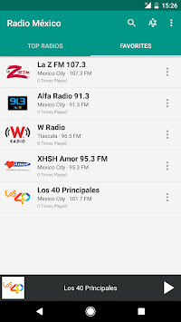 Radio México APK screenshot thumbnail 4