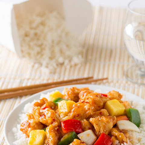 Sweet and Sour Chicken with Kraft Recipe Makers