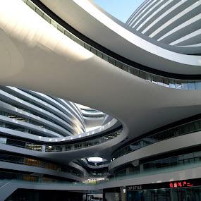 New buldings in Beijing by Jakub Juszyński - Buildings & Architecture Office Buildings & Hotels ( office, white, bulding, beijing, business, china, #Gautam buddha  )
