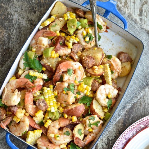 Cajun Shrimp Boil Potato Salad Guest Post By Christy of My Invisible Crown