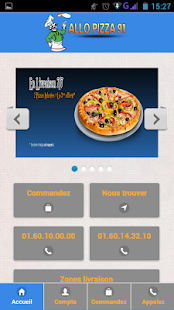 Allo Pizza 91 Palaiseau - screenshot