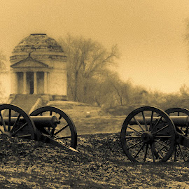Ghosts Of Vicksburg by Kevin Esterline - City,  Street & Park  Historic Districts ( civil, war, history, mississippi, park, canon,  )
