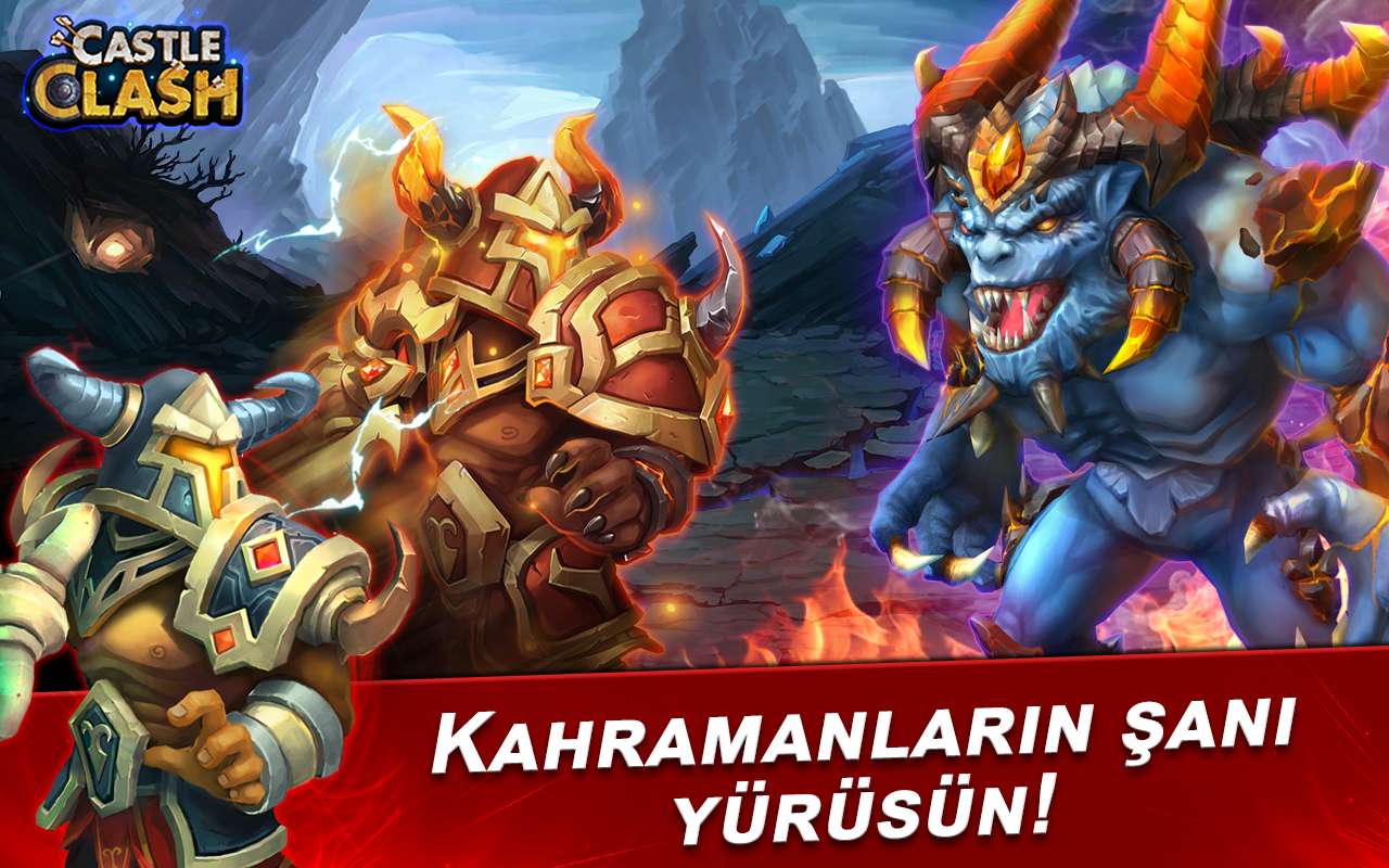 Castle Clash: Efsaneler Çağı Screenshot 4