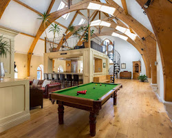 Pool table, DVD selection and games for those quiet days of your holiday