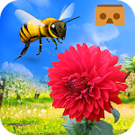 VR Bee Flower Adventure- Touch Magic Petals Icon
