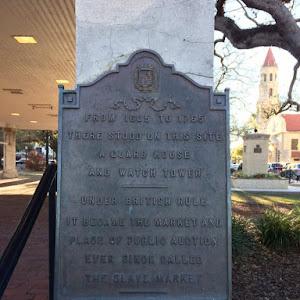 St. Augustine Slave Market