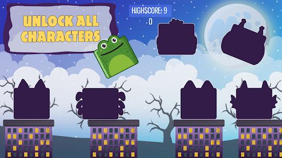 Halloween Spooky Jumpy Monsters