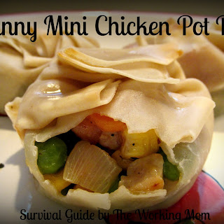 Skinny Mini Chicken Pot Pies