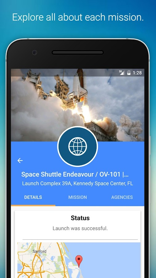 Space Launch Now Screenshot 0