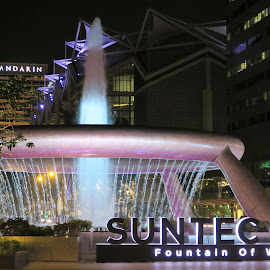 Fountain of Wealth by Dennis  Ng - City,  Street & Park  Fountains (  )