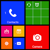 8 Metro style launcher theme APK for Lenovo