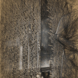 Wall that Heals - Manipulated by Tom Anderson - Buildings & Architecture Statues & Monuments ( march air reserve base, vietnam memorial, the wall that heals, traveling wall, riverside, california, march field )