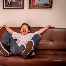 Smile Everyday by Amsyar Ar-Rasyid - Babies & Children Child Portraits ( child, family, happy, children, smile )