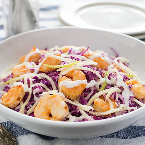 Chiptole Shrimp Slaw w/ Zesty Yogurt Dressing