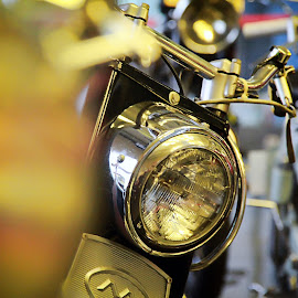 Head Lamp by Prasmadia Maulana - Transportation Motorcycles ( motorbike, moto, lamp, motorcycle, head lamp )