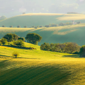 Italian Hills by Emanuele Zallocco - Landscapes Mountains & Hills