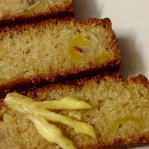 Eggless Ripe Jackfruit Coconut and Semolina Loaf Cake....