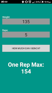 How Much Can You Bench? - screenshot