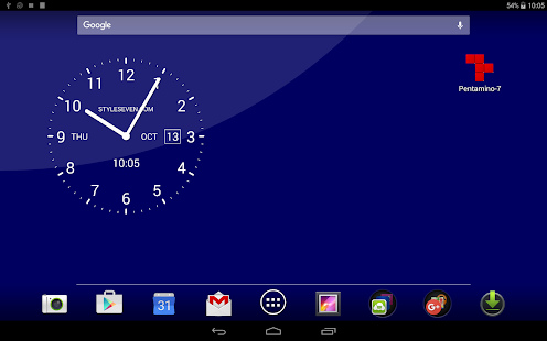 App Analog Clock Live Wallpaper-7 APK for Kindle