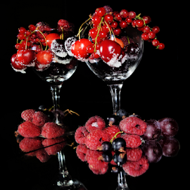 fruits in glass by LADOCKi Elvira - Food & Drink Fruits & Vegetables ( fruits )
