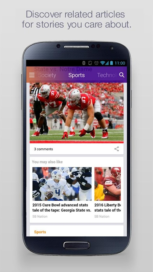 Yahoo - News, Sports & More Screenshot 1
