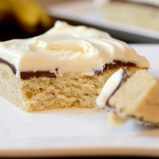 Banana Fudge Layer Cake