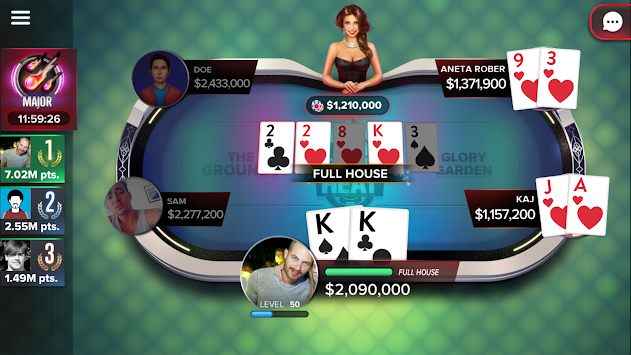 Poker Heat - Free Texas Holdem APK screenshot thumbnail 12