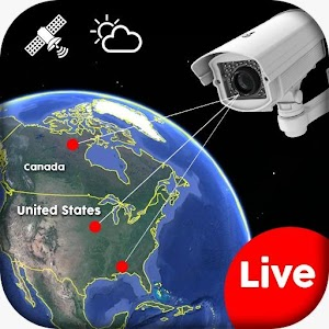 Live Earth WebCam HD, World Map 3D, Satellite View Online PC (Windows / MAC)