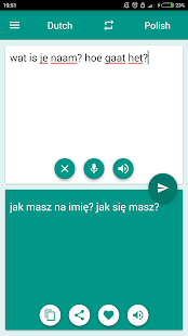 Dutch-Polish Translator - screenshot