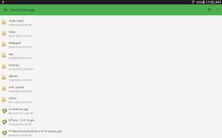 Screenshot of Application Utility