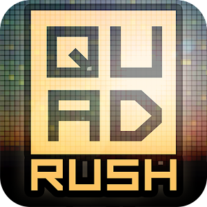 Quadrush – test your speed & perception in this gravity madness game
