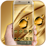 Luxury Gold Crystal Theme Icon