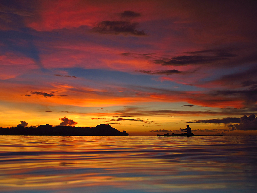 Island of Sunsets by Brandon Mardon - Travel Locations Air Travel
