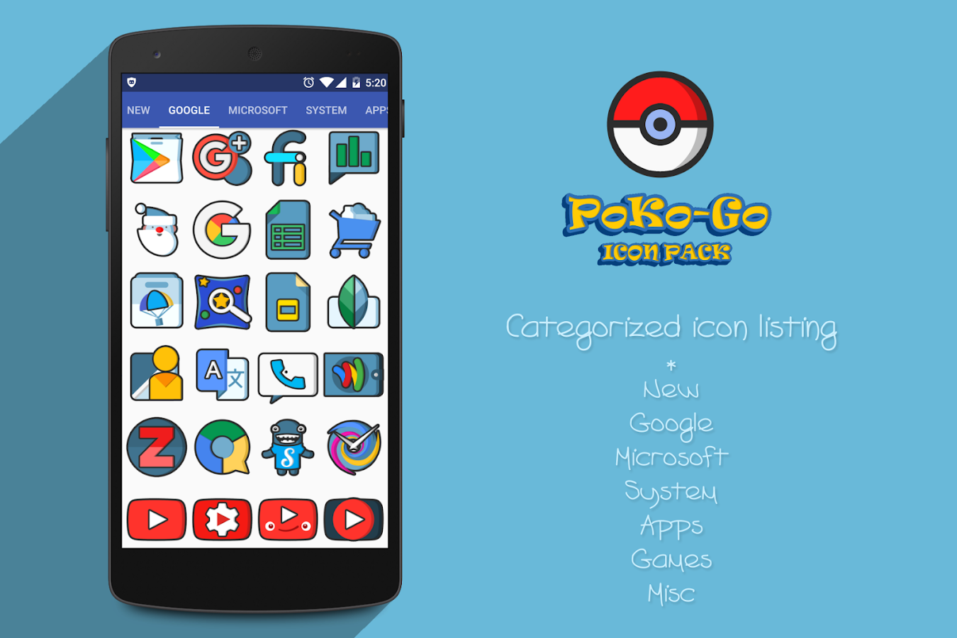 PokoGo Icon Pack Screenshot 9