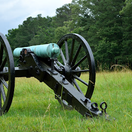 Chickamauga National Battlefield by Rich Hooper - Novices Only Objects & Still Life ( american civil war, chickamauga, cannons, artillery )