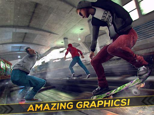 Subway Skateboard Ride Tricks - Extreme Skating screenshot 5